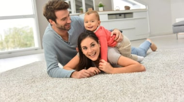 Undercarpet Heating child, family, flooring, fun, people, photograph, photography, sitting, white