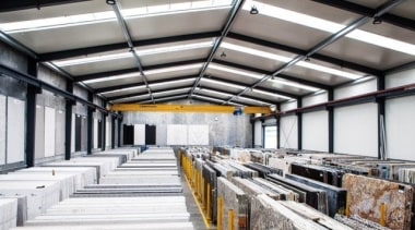 Universal Granite And Marbles Warehouse 4 daylighting, structure, white, gray