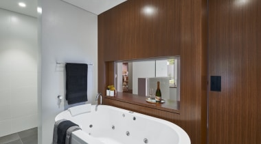 Urbane Projects – Highly Commended – Tida Aus bathroom, interior design, property, real estate, room, brown, gray