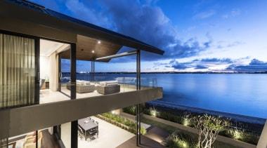 Winner – 2016 Tida Australian Designer New Home apartment, architecture, condominium, estate, home, house, penthouse apartment, property, real estate, resort, sky, villa, teal
