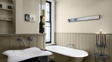 Bathroom 2 Thorndon Cream Napa Panels bathroom, interior design, plumbing fixture, room, sink, gray