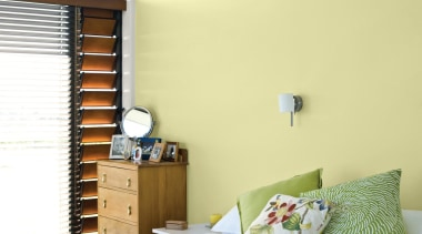 Bedroom First Light architecture, bed frame, bed sheet, bedroom, ceiling, home, house, interior design, room, suite, wall, window, window covering, wood, yellow