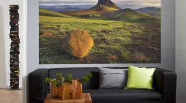 Iceland Interieur home, interior design, painting, wall, gray, black