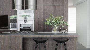 Bruce Stafford Architects countertop, cuisine classique, furniture, interior design, kitchen, product, gray