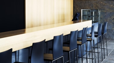 Pendant Light architecture, chair, countertop, floor, flooring, furniture, interior design, light fixture, lighting, product design, table, wall, black