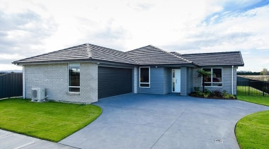 For more information, please visit www.gjgardner.co.nz architecture, elevation, estate, facade, home, house, property, real estate, residential area, roof, siding, white, gray