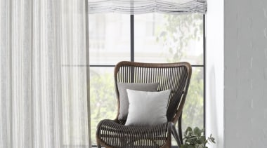 Harrisons Curtains chair, curtain, floor, furniture, interior design, shade, textile, window, window blind, window covering, window treatment, white