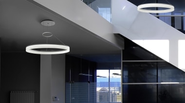 CIRC from LEDS-C4, Spain architecture, ceiling, daylighting, interior design, product design, structure, black, gray