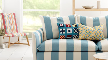 Maritime Collection bed sheet, bedding, couch, cushion, duvet cover, furniture, interior design, linens, living room, loveseat, pillow, product, sofa bed, textile, white
