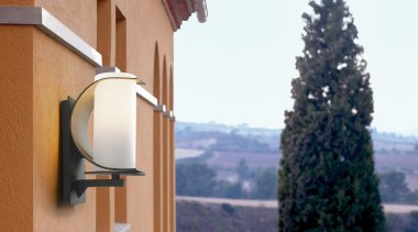 Exterior and Outdoor Lights architecture, building, facade, home, house, property, real estate, roof, sky, tree, white