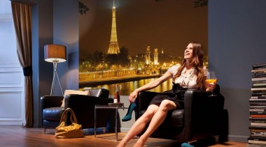 Nuit dor Interieur couch, flooring, furniture, interior design, room, sitting, brown