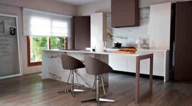 eco wood teca intensa 20x120 kitchen tiles.jpg countertop, cuisine classique, floor, flooring, furniture, hardwood, interior design, kitchen, laminate flooring, room, table, wood, wood flooring, gray