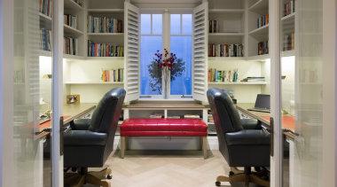 Office interior design, gray
