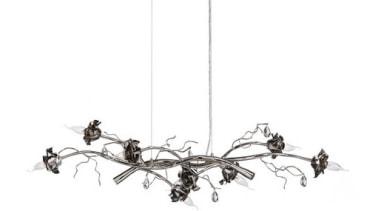 Brand van Egmond - La Vie en Rosa black and white, insect, invertebrate, light fixture, lighting, membrane winged insect, product design, white