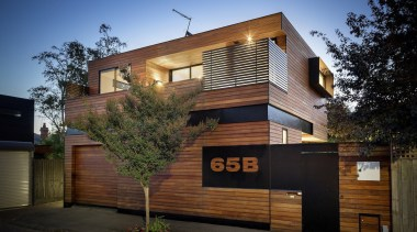 ITN Architects architecture, building, elevation, facade, home, house, property, real estate, residential area, siding, black