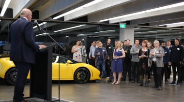 Photos of the 2017 TIDA New Zealand Homes auto show, automotive design, automotive exterior, car, car dealership, land vehicle, motor vehicle, sports car, supercar, technology, vehicle, black