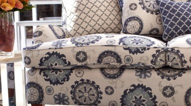 Suzani Collection chair, couch, cushion, duvet cover, furniture, interior design, linens, living room, table, textile, white