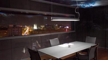 Class by Grok, Spain interior design, lighting, table, black