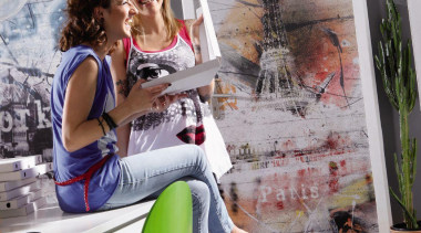 Paris Interieur furniture, sitting, gray