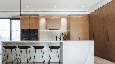 Hillam Architects architecture, cabinetry, countertop, cuisine classique, floor, furniture, house, interior design, kitchen, real estate, table, gray, white