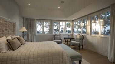 Master bedroom bedroom, ceiling, estate, home, interior design, property, real estate, room, window, gray