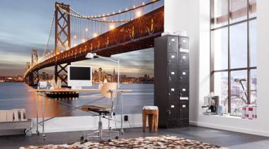 Bay Bridge Interieur interior design, gray, white