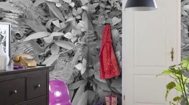 Forest Floor Interieur home, interior design, purple, room, wall, wallpaper, gray