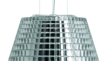 fabbian-nicola-flow-suspencionlight-chrome2-1200.jpg ceiling fixture, daylighting, lighting, product design, white, gray