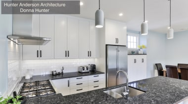 Highly Commended – Hunter Anderson Architecture, Donna Hunter countertop, interior design, kitchen, gray