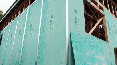 HomeRAB Pre-Cladding1 architecture, blue, green, structure, wall, wood, teal