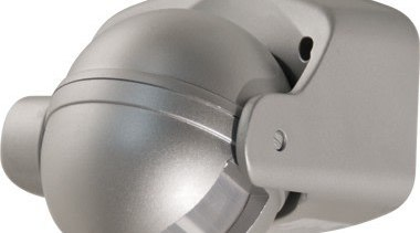 FeaturesA discrete low profile designThe unit relies on hardware, lighting, product, product design, white, gray