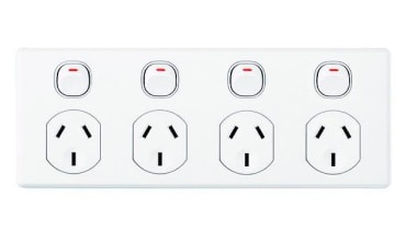 Classic C2000 quad socket White ac power plugs and socket outlets, technology, white