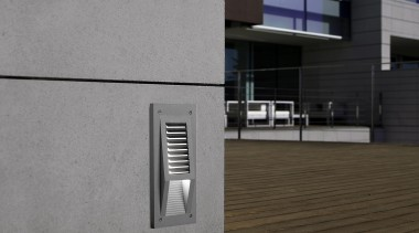 Exterior and Outdoor Lights architecture, building, daylighting, facade, house, wall, window, gray