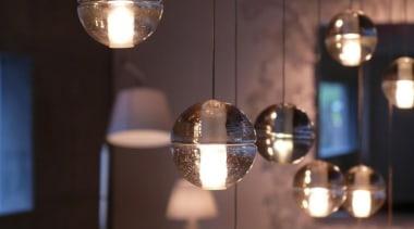 Series 14 - Bocci Lights chandelier, decor, lamp, lampshade, light, light bulb, light fixture, lighting, lighting accessory, black