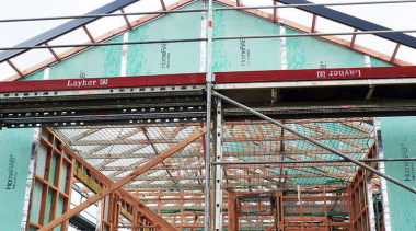 RAB Pre - Cladding building, construction, facade, metal, steel, structure, white