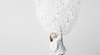 Brand van Egmond - Hollywood chandelier @ Matisse lamp, lighting accessory, white