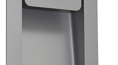FeaturesAn architecturally clean and minimalist design incorporating a hardware, product, product design, gray, white