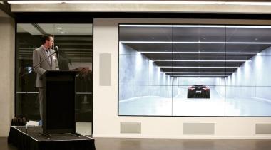 Andrew Johnson and Aston Martin interior design, black, white