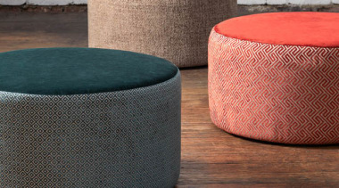 Soft, plush and inviting, this dynamic collection is furniture, ottoman, table, wicker, gray, brown