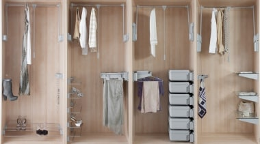 Quality Italian designed and made wardrobe storage systems cabinetry, closet, clothes hanger, floor, furniture, room, wardrobe, gray, brown