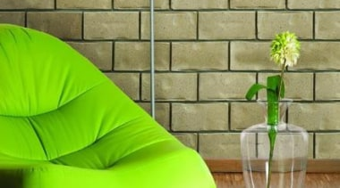 When selecting materials for a new home it chair, couch, floor, flooring, furniture, green, hardwood, interior design, living room, outdoor furniture, product, product design, table, wall, wood, orange