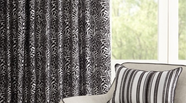 Harrisons Curtains black and white, chair, curtain, furniture, interior design, product design, textile, window, window treatment, white, black