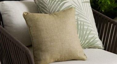 Daintree 5 chair, couch, cushion, duvet cover, furniture, linens, pillow, textile, throw pillow, wicker, gray, black