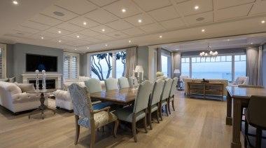 Living area ceiling, deck, interior design, real estate, brown, gray