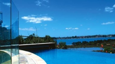 Residential cloud, horizon, reflection, sea, sky, swimming pool, water, waterway, teal, blue