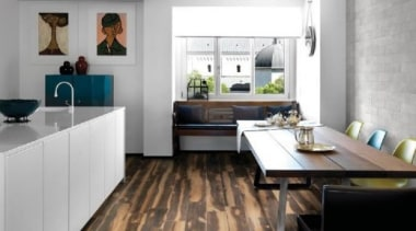 Burned Tanned 200x1200mm countertop, floor, flooring, interior design, kitchen, laminate flooring, room, wood flooring, white