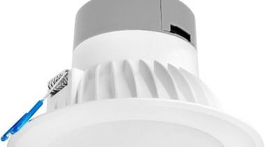 FeaturesOur Tegra LED downlights are a great value light, lighting, product, product design, smoke detector, white, white