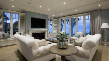 Living area ceiling, home, interior design, living room, penthouse apartment, property, real estate, room, gray