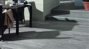 Anthracite exterior floor and grey wall. asphalt, floor, flooring, hardwood, laminate flooring, tile, wood, wood flooring, gray, black
