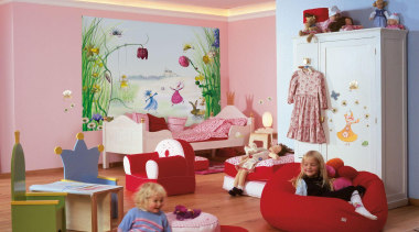 Princess Interieur bed, bedroom, furniture, home, house, interior design, kindergarten, nursery, play, product, room, toddler, toy, gray